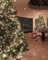 Christmas Home Decor Uk Kourtney Kardashian Shows Off Her Christmas Trees After Mother