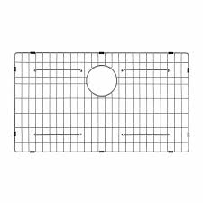 Amazon Com Interdesign Gia Kitchen Sink Protector Wire Grid Mat by Kraus Kbg 100 30 Stainless Steel Bottom Grid Single Bowl Sinks
