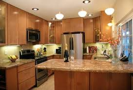 U Shaped Kitchen Design Ideas by Kitchen Small L Shaped Kitchen Ideas With Wooden Cabinet And
