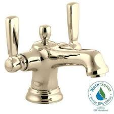 Gold Bathroom Faucet by Kohler Gold Bathroom Sink Faucets Bathroom Faucets The