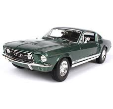 Mustang Black And Green Online Shop 1 18 Ford 1967 Mustang Gta Fastblack Car Black And