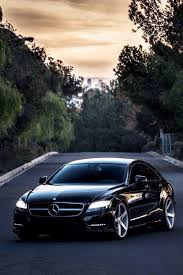mercedes black car mercedes cls when it comes to your car big or