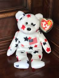 Baby Flag Beanie Baby Stars With American Flag
