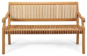 giva outdoor teak bench 4 u0027 craftsman outdoor benches by