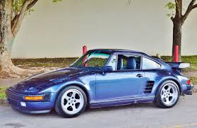 porsche 930 turbo flatnose 1986 porsche 930 turbo ruf btr spec real muscle exotic