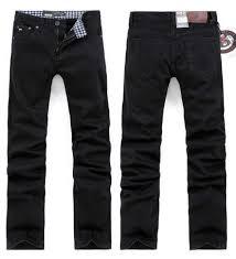 free shipping retail men u0027s black straight cotton spandex denim