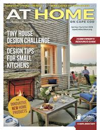 cover of at home on cape cod magazine spring summer 2016