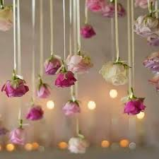 trend alert hanging flowers give your wedding a magical effect
