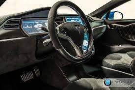 Tesla Interior Model S Unplugged Tesla Model S Headed To Sema