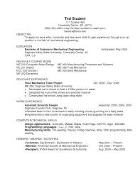 54 Resume Mechanical Engineer Sample by Engineering Student Sample Resume Cia Electrical Engineer Sample