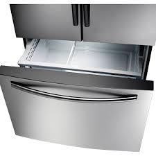 Samsung French Door Refrigerator Cu Ft - samsung 28 cu ft french door refrigerator rf28hfedbsr