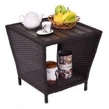 cancun palm end table rattan end table ebay