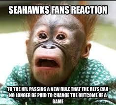 Seahawks Fan Meme - 22 meme internet seahawks fans reaction to the nfl passing a new