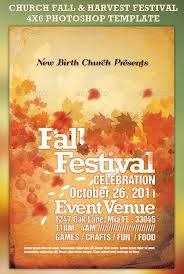 festival brochure template 32 best church flyer templates wakaboom fall festival invitation