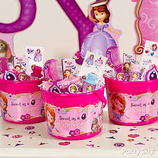 sofia the birthday party ideas sofia the favor idea party city party city
