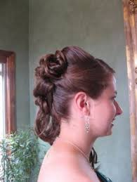 hermione yule ball hairstyle hermione granger s yule ball hair from the back slate salon