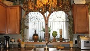 Tuscan Style Curtains Tuscan Style Tuscan Kitchen Decor Cannabishealthservice Org