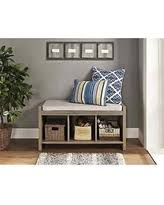 Oak Storage Bench Christmas Shopping Sales On Avenue Greene Ameriwood Home Sonoma