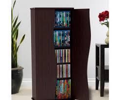 Media Storage Shelves by Salient Media Storage Tower Cd Dvd Rack Cabinet Adjustable Shelf