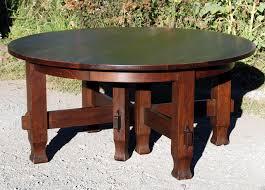 Stickley Dining Room Furniture Voorhees Craftsman Mission Oak Furniture Vintage Early 8 Leg 60