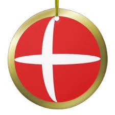 denmark flag ornaments keepsake ornaments zazzle
