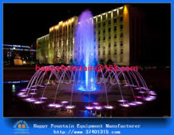 water fountain with lights china large outdoor water dancing fountain square musical fountain