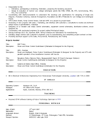 Resume Examples Teacher by Circuit Design Engineer Sample Resume 20 Mechanical Engineering