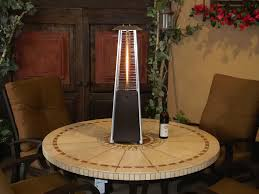 Pyramid Flame Patio Heater Tabletop Patio Heater Home Design By Fuller
