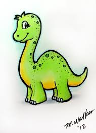 i like markers quick dinosaur sketch