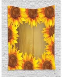 Sunflower Themed Bedroom Deal Alert Sunflower Decor Wall Hanging Tapestry Sunflower