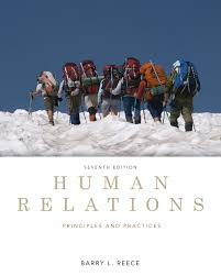 human relations principles and practices 7th edition
