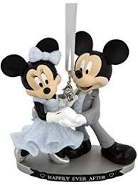 disney mickey minnie wedding ring ornament home
