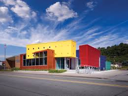 Impressions Home Expo Design Sharpsburg Library Makes An Impression Thanks To Colorful Design