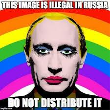Drag Queen Meme - image tagged in vladimir putin drag queen russia streisand effect