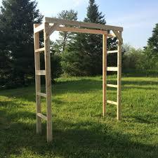 wedding arch kit 19 white cedar wedding arch dirtbikes white cedar and