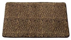 leopard area rug amazon com carnation home fashions
