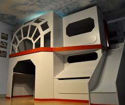 Millenium Falcon Themed Star Wars Childrens Bunk Bed Star Wars - Star wars bunk bed
