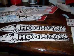 jeep islander decal jeep wrangler hooligan hood decal set