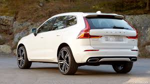 2018 volvo xc60 t8 r design color crystal white rear three