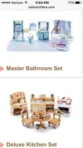 Calico Critters Bathroom Set Pin By Kallie Pitman On Calico Critters Pinterest