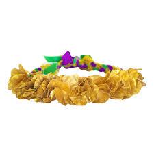 mardi gras headband mardi gras gold flower headband cus connection