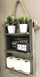 Rustic Bathroom Medicine Cabinets by Amazon Com Bathroom Storage Shelf Rustic Wood U0026 Bathroom