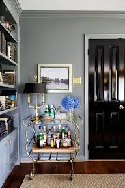 Tips For Painting Wainscoting Bold Black Interior Doors Inspiration And Tips Hgtv U0027s