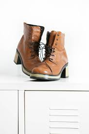 s heel boots size 11 high quality shoes fullheadvintage vintage brown platform