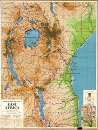 Map Of East And West Germany kenya colony