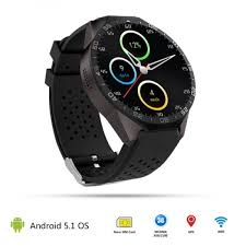 smartwatch android kw 8x android 5 1 bluetooth smartwatch with rate sensor