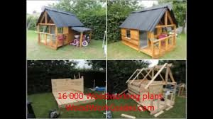 how to build wood playhouse for children youtube