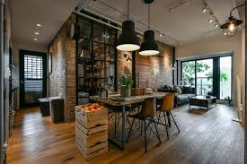 loft interior design charming industrial loft in new taipei city idesignarch