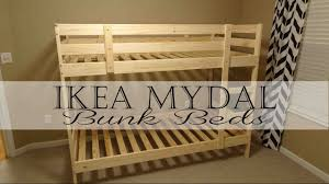 IKEA MYDAL Bunk Beds YouTube - Ikea bunk bed
