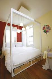 may 1 ikea hack malm bed into a four poster ikea hack malm and